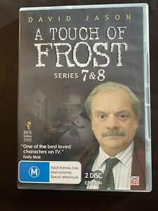 A Touch Of Frost : Series 7-8 (DVD, 2009, 2-Disc Set) Region 4