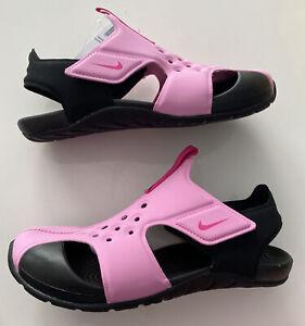 Nike SUNRAY PROTECT 2 (PS) Kinder Mädchen Sandalen Klettverschluss Gr.35/3Y/22cm