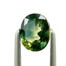 1.28 carats Oval 6x5mm Natural Australian Parti Sapphire Loose Gemstone, OPS22