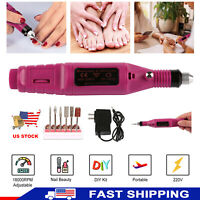 PROFESSIONAL ELECTRIC NAIL FILE DRILL Manicure Tool Pedicure Machine Nail Tool