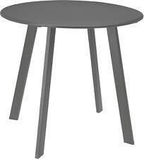 Dunkelgrau Metall Tee Table Garten Table Outdoor Indoor Table 50cm Innen Table