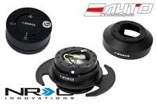 NRG Steering Wheel Hub Black Gen3 Quick Release Matt Lock for 350z 370z G35 G37