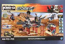 NEW Kre-o GI Joe Battle Platform Attack A3365 Cobra Commander Duke Roadblock