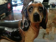 More details for large coopercraft bloodhound figurine ornament