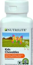 AMWAY NUTRILITE KIDS CHEWABLES MULTI MINERALS .1x 100 TABLETS.