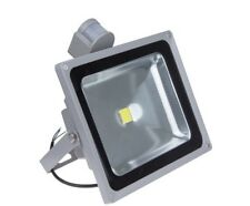 Foco Proyector LED  50W con sensor de movimiento color 6000K Luz brillante con