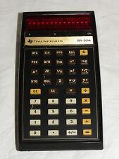 TEXAS INSTRUMENTS SR-50A TASCHENRECHNER CALCULATOR SR-50 A  (3314)