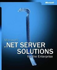 Microsoft .NET Server Solutions for the Enterprise-ExLibrary