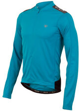 Pearl Izumi Quest Long Sleeve Bicycle Bike Jersey Electric Blue - Medium