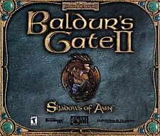 Baldur's Gate II - Shadows of Amn (PC, 2000)  (4)  Discs