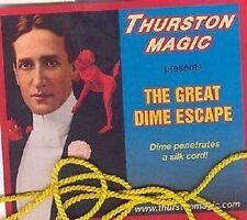 Thurston Great Dime Escape - Coin Magic Trick