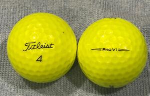15 Titleist ProV1 Yellow, Golf Balls AAA -AAAA