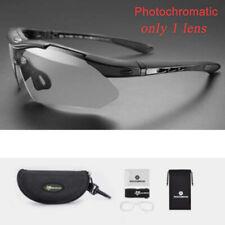 ROCKBROS Photochromatic Cycling Glasses Sports Glasses Sunglasses Goggles Black