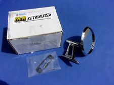 NEW 1962-76 Mopar A & B-Body Manual Twin Post Outer Door Mirror; LH OER Licensed