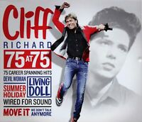 CLIFF RICHARD 75 At 75 (2015) 3-CD set BRAND NEW/SEALED