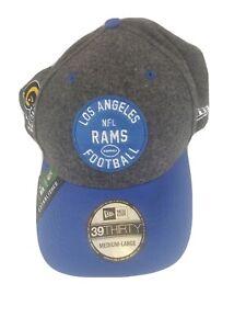 New LA Los Angeles Rams NFL Football New Era 39Thirty Hat Cap Size M/L Authentic
