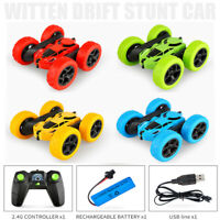 Remote Controlled Car 4WD 2.4GHz Stunt Car 360 Spin RC Stunt Car for Kids