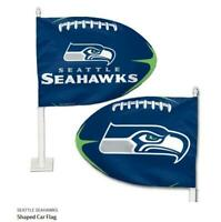 Seattle Seahawks Auto Flagge,NFL Football,Car Flag,Neu