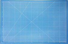 Schneidematte A0 blau, 5 Schichten! selbstheilend Schneidunterlage Bastelmatte
