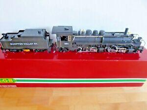 """LGB 20892, Digital Gelenklok mit Tender der """"Sumpter Valley Railway"""" in OVP"""
