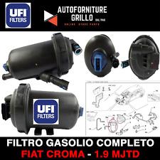 SUPPORTO FILTRO GASOLIO COMPLETO ORIGINALE UFI FIAT CROMA 1.9 MULTIJET / MJET