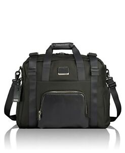 NEW  TUMI BUCKLEY  BLACK DUFFEL  CAMO CARRY ON BAG $525