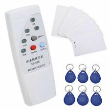 125KHz Handheld RFID Duplicator Key Copier Reader Writer ID Card Cloner Safety