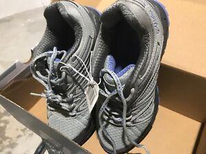 FILA Northampton Women's Trail Running Hiking Shoes, Grey /Blue Size 6