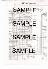 """1978 FORD TRUCK """"F"""" 100 150 250 350 1/2 3/4 1 TON 2WD 4WD 78 WIRING DIAGRAM 2PGS"""