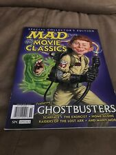 Mad Magazine Special Collectors Edition Ghostbusters Spoof Movie Classics