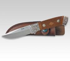 "LINDER GERMAN FLEUR HUNTING KNIFE / ROSE WOOD / 3.62""  BLADE **NEW**"