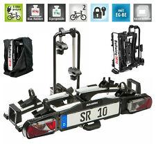Bullwing SR10 Fahrradträger für 2 Fahrräder oder E-Bike Heckträger abklappbar