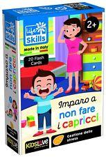 LISCIANI LIFE SKILLS CARDS IMPARO A NON FARE i CAPRICCI 2+ GIOCHI EDUCATIVI