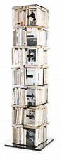 OPINION CIATTI libreria PTOLOMEO PTX4-B nero con base inox h197 245 libri