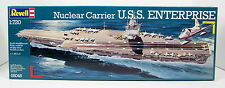 REVELL 1:720 KIT NAVE SHIP PORTAEREI U.S.S. ENTERPRISE NUCLEAR CARRIER ART 05046
