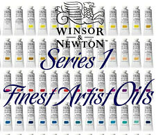 Winsor & Newton Artist Oil Colour 37ml Tubes Series 1 Colours FREE POSTAGE