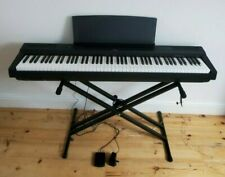 More details for yamaha p-125 88-key weighted digital keyboard (under warranty) w/accessories