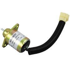 New Fuel Shut Off Shutdown Solenoid Kubota Yanmar Synchro Start SA4569T 12V