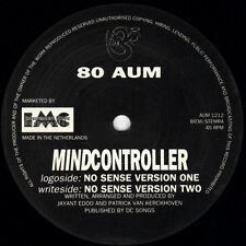 80 Aum ‎– Mindcontroller *** Oldskool - Vinyl - Hardcore - Jungle - Rave ***