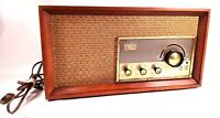 Vintage Arvin Tabletop Desktop Model Tube Radio AM/FM 2 Band cherry Case 32r43