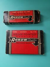 2 Vintage Boxes of Arrow T-50 Staples