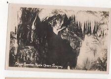 Organ Chamber Kents Cavern Torquay Vintage RP Postcard 717a