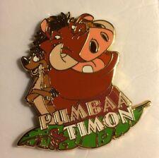 Disney Pins Pumbaa & Timon tie tack lapel pin