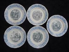 Assiettes porcelaine Choisy le Roi Souvenirs exposition 1878