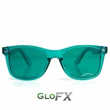 GloFX Aqua Color Therapy Glasses Relaxation Chromotherapy Glasses Sunglasses