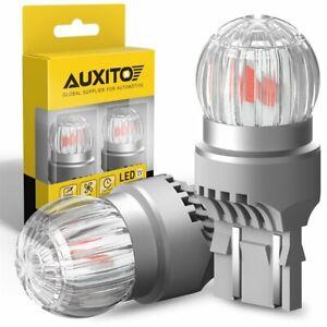 AUXITO 7440 7443 7444 Red LED Anti Hyper Flash Rear Turn Signal Brake Tail Light