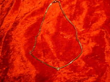 Nice ___ Necklace/Necklace __ with Rhinestone ____ 41 cm __ Pierre Lang