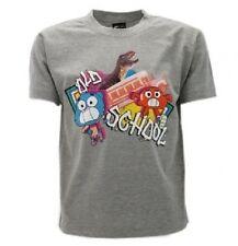 T-Shirt Originale Gumball Cartoon Network Lo Straordinario Mondi GRIGIA SCHOOL