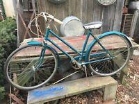 Vintage 1960s Robin Hood England Girls Bicycle