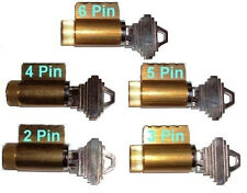 PRACTICE LOCK SET, 2,3,4,5 & 6 PIN, LOCKSMITH TRAINING, PICK BRASS LOCKS